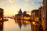 Sunrise over Grand Canal in Venice, Italy