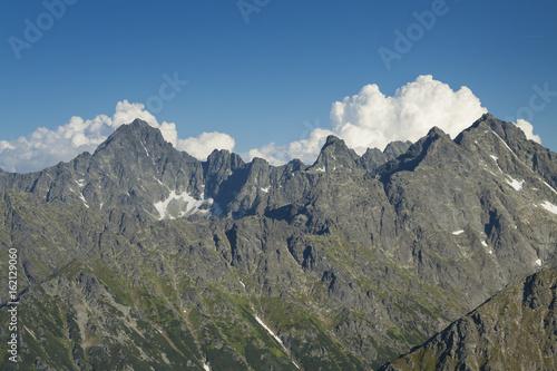 Poland/Slovakia Peaks of Tatra Mountains