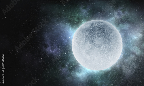 Obraz It is full moon today