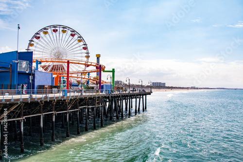 Santa Monica Pier, Santa Monica, Los Angeles, California Poster