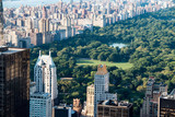 New York skyline with Central Park, United States