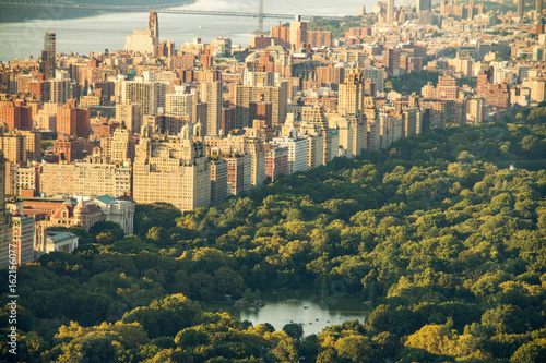 Foto op Canvas New York New York skyline with Central Park, United States