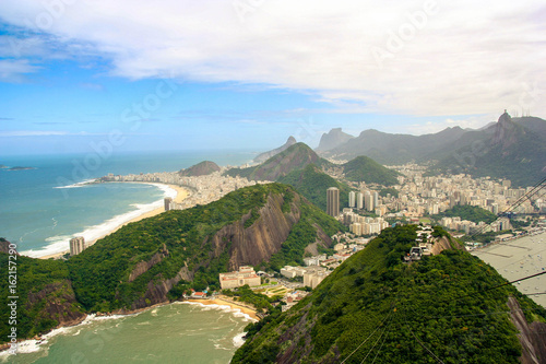 Aluminium Rio de Janeiro Rio de Janeiro seen from Sugarloaf Mountain, Brazil