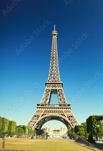 Aluminium Eiffeltoren The Beautiful Eiffel Tower in Paris, France