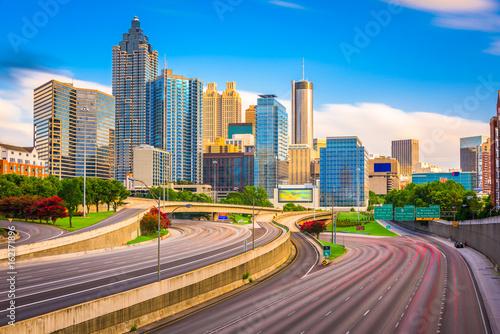 Poster Atlanta, Georgia, USA Skyline