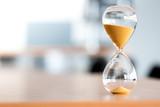 Sand clock, business time management concept - 162184465