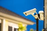 CCTV camera in home village - 162184863