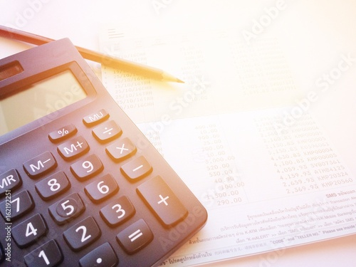 Business, finance, savings, banking or loan concept : Pencil ...