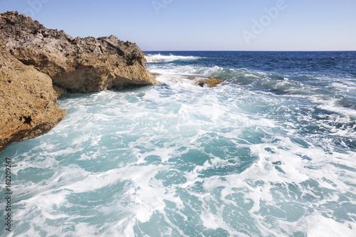Fotobehang Cyprus Mediterranean sea landscape. Cyprus