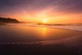 Sopelana beach at sunset