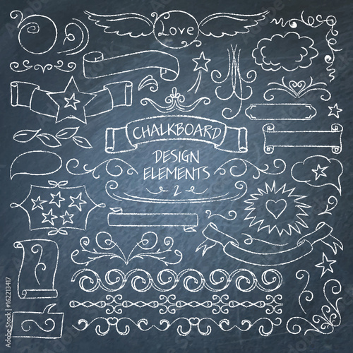 big collection of chalkboard elements buy photos ap images