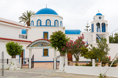 Church of the Nativity of the Blessed Virgin Mary in Kardamena, kos island in Greece.