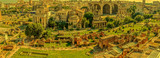 Panoramic view over the ruins of the Roman Forum - 162228848