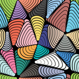 Abstract color seamless pattern.