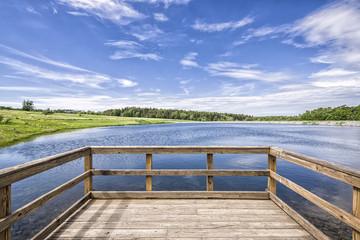 Lago en Ontario Park / Ontario Park Lake