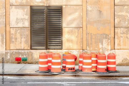 New York City Street Scene Poster