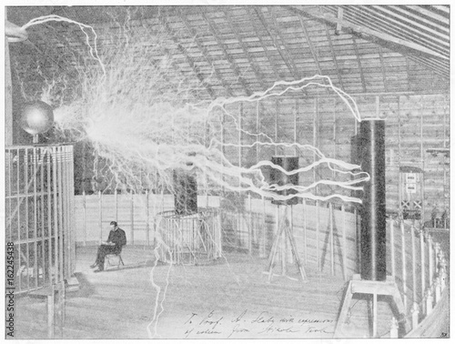 Science - Tesla 1899. Date: 1899-1900