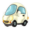 Cartoon every day car isolated illustration for children