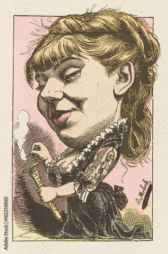 Sophie Croizette - Moloch. Date: 1849 - Poster