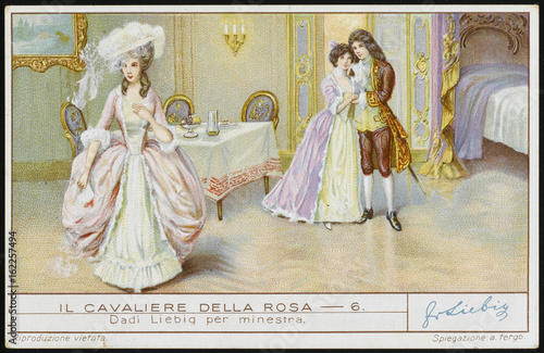 Strauss - Rosenkavalier Poster