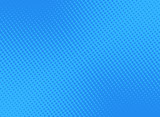 Fototapety retro comic blue background raster gradient halftone, stock vector illustration eps 10