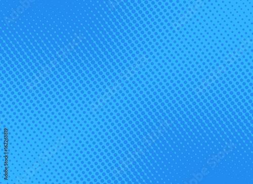 retro comic blue background raster gradient halftone, stock vector illustration eps 10