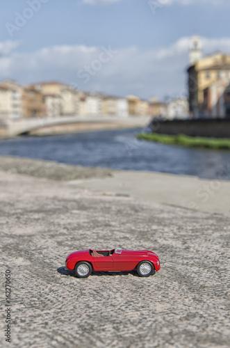 Plagát View of a luxury car