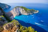 Navagio beach on Zakynthos island, Greece