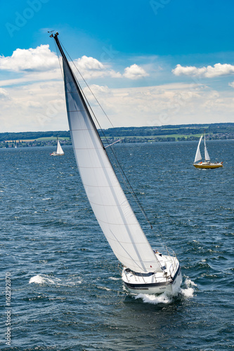 Poster Sailing Yacht Race