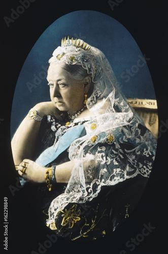 Poster Queen Victoria. Date: 1819 - 1901