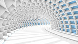 Abstract Tunnel 3d Background © aregfly