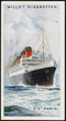 Steamships - 'Paris'. Date: 1921