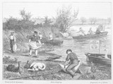 Swan-Upping - Robertson. Date: 1873