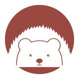 Animal Corpspin cartoon icon vector illustration design graphic