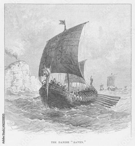 Aluminium Zeilen Transport - Sailing Ships -. Date: circa 800