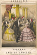 Dance  English Lancers. Date: circa 1856