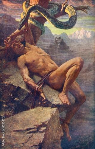 Loke Punished - J D Penrose Poster