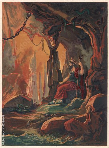 Hades - Pluto Poster