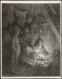 East End Opium Den. Date: 1870 - 162336427