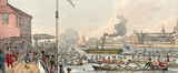 Regatta at Chelsea. Date: circa 1815