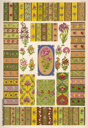 Poster Owen Jones Persian 47. Date: 1868