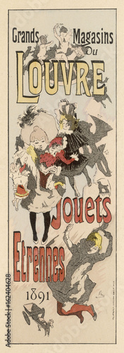 Toy Advert - 1891. Date: 1891 - 162404628