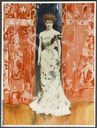Jessie Bateman - Blankleys. Date: 1903 Poster