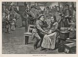 Immigrants at Ellis Island  New York    . Date: 1880 - 162426055