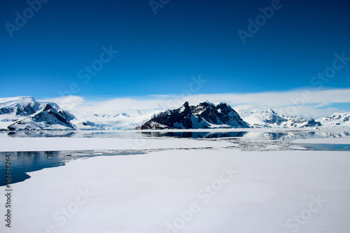 Plexiglas Antarctica Beautiful landscape in Antarctica
