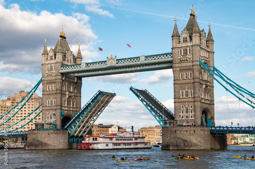 Foto op Canvas Londen Tower Bridge, London, United Kingdom