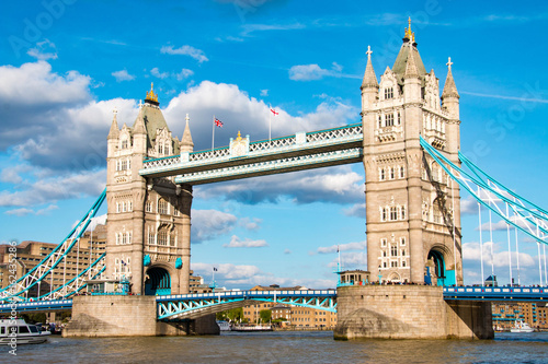Fotobehang Londen Tower Bridge, London, United Kingdom