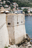 A view from the old town walls of Dubrovnik, Croatia. - 162439200