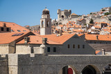 A view from the old town walls of Dubrovnik, Croatia - 162439495