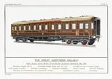Gt Northern Sleeper. Date: circa 1910